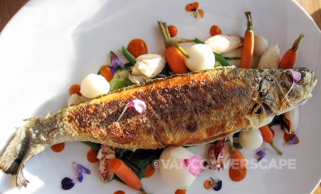 Pierside Kitchen Branzino (Mediterranean Sea bass)