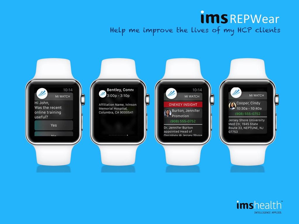 20150608 IMS HealthWear AppleWatch | Software Insider Point