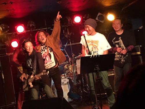 John Entwistle tribute concert at ShowBoat, Tokyo, 29 Jun 2015. 3280