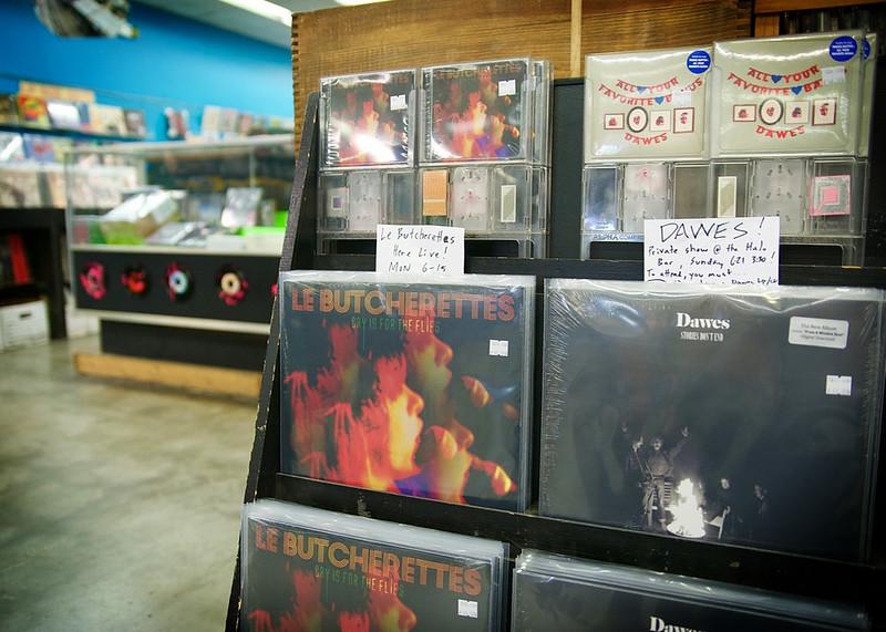 Le Butcherettes @ Vintage Vinyl