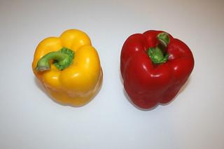 02 - Zutat Paprika / Ingredient bell pepper