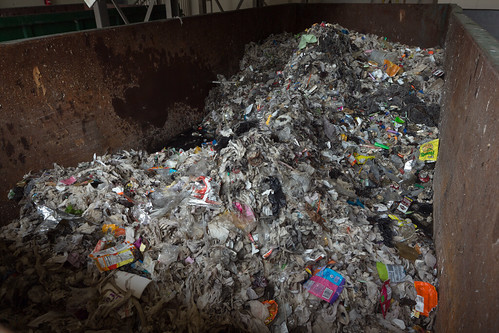 Calumet Water Reclamation Plant Trash Conveyer Dumpster