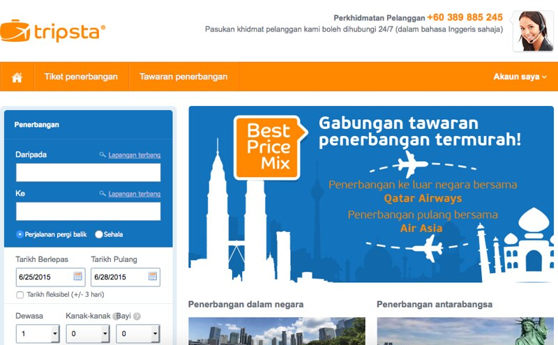 Tripsta Malaysia Deals Promos Cashback