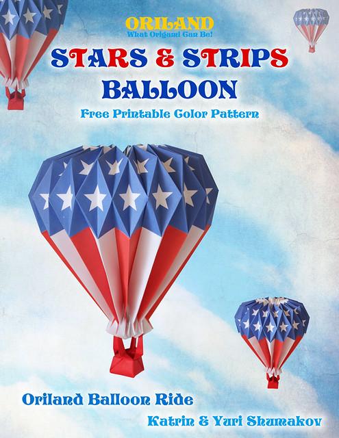 Stars and Strips Balloon! Oriland Balloon Ride