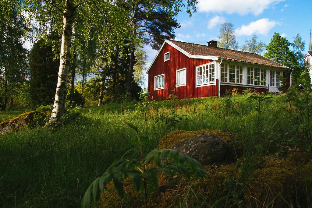 Holzhauschen In Schweden Johannes Grimm89 Flickr
