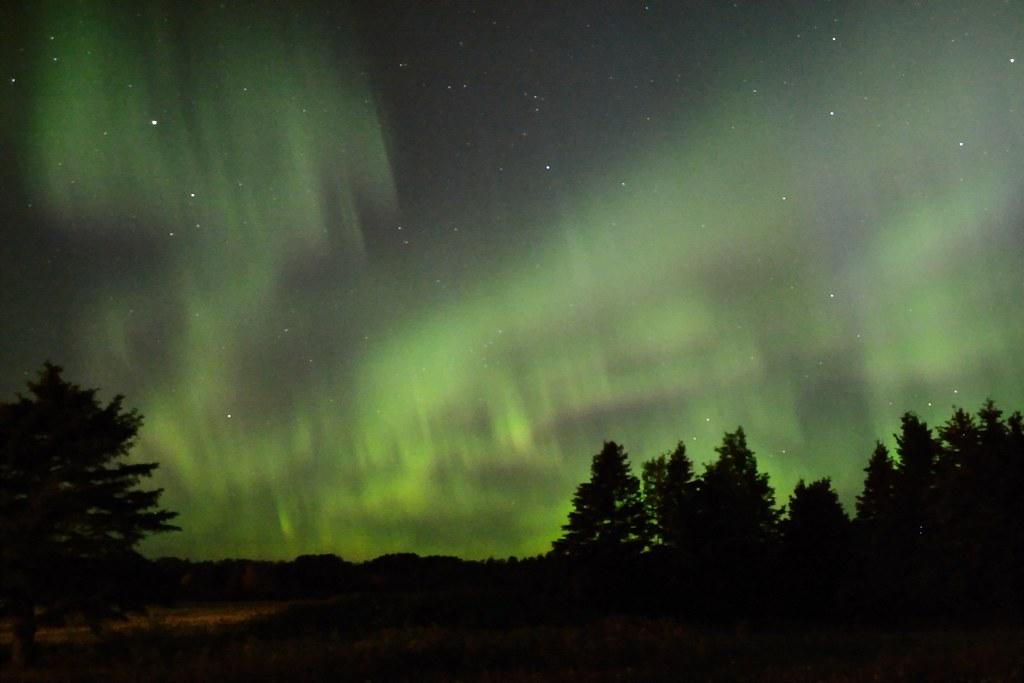 aurore boréale - aurora borealis
