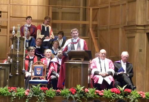 Graduation St Andrews - Professor Aaron Quigley