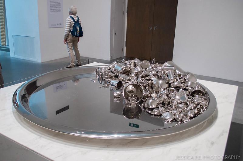 Tate Modern metal sculpture London