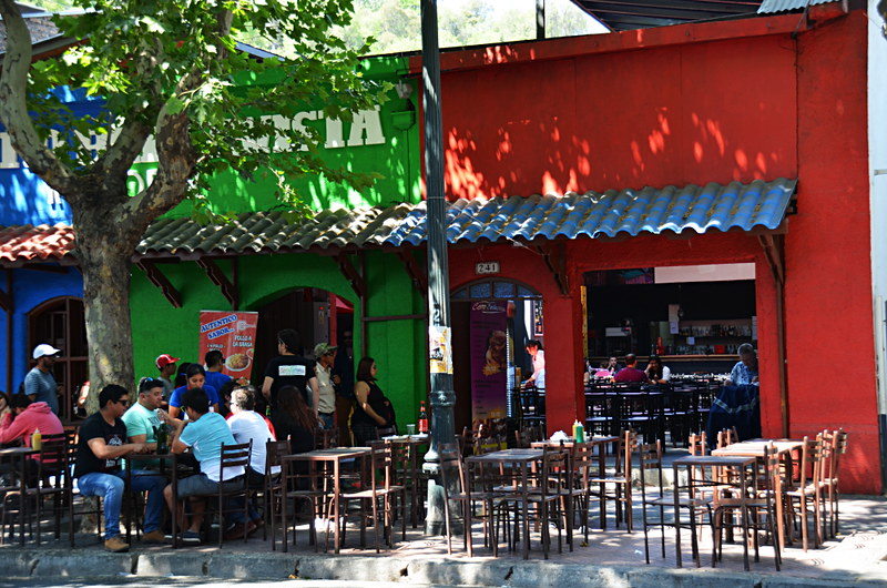 Bars, Pio Nono, Santiago, Chile