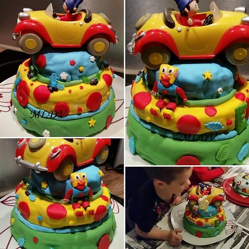 Gâteau anniversaire OuiOui