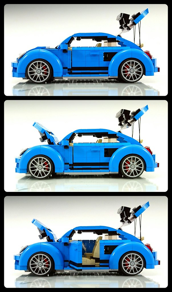 LEGO 2017 VolksWagen Beetle With GRC Body Kit MOC   The ...