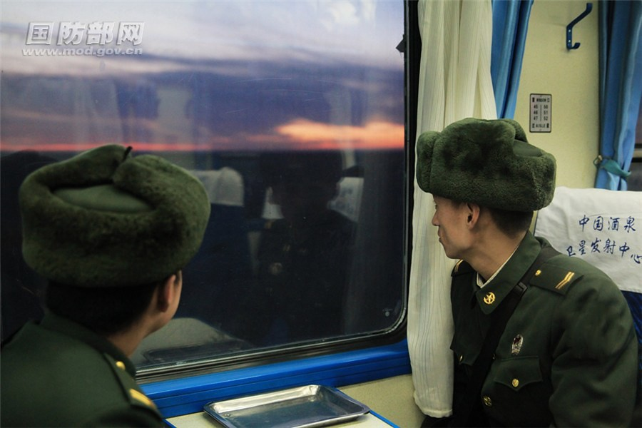 Expose only military railways in China: to the Jiuquan launch Center