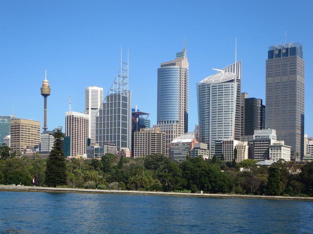 Sydney Tower Eye Fine Views Of The Sydney Australia Skyl Flickr