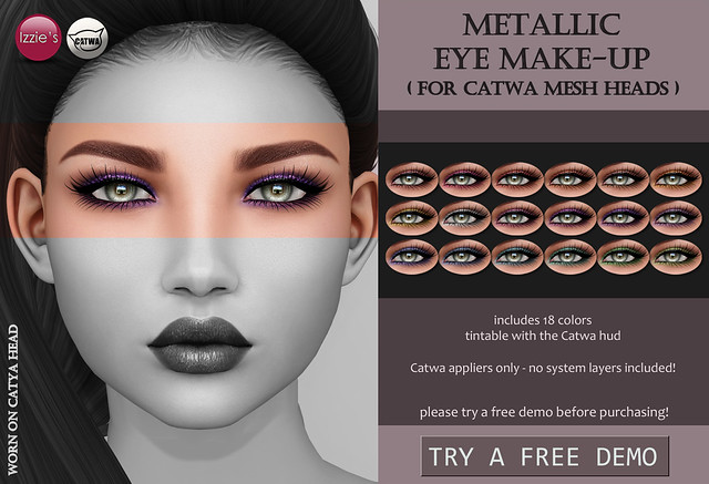 Metallic Eye Make-Up (Catwa)