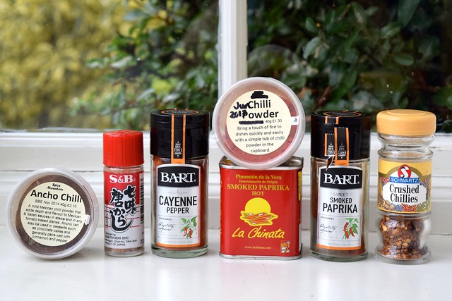 Different Types of Dried Chilli   www.rachelphipps.com @rachelphipps