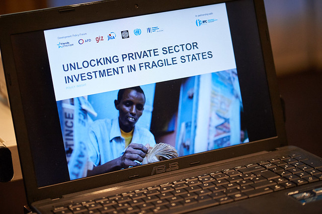 Unlocking private sector investment in fragile states