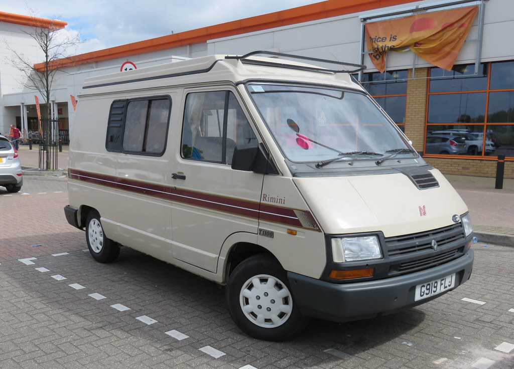 1990 renault trafic t1100 as rimini camper spottedlaurel. Black Bedroom Furniture Sets. Home Design Ideas