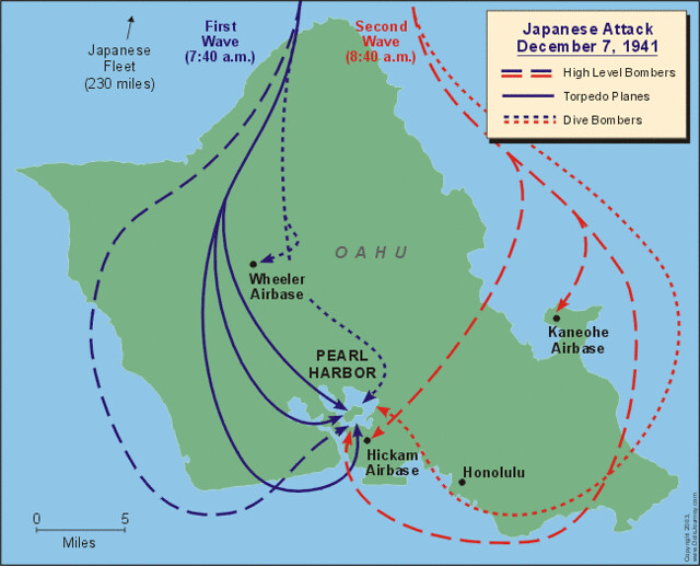 Japanese Attack Plan on Pearl Harbor