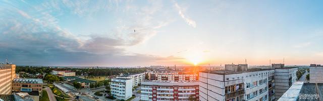 Landscape of Ventspils