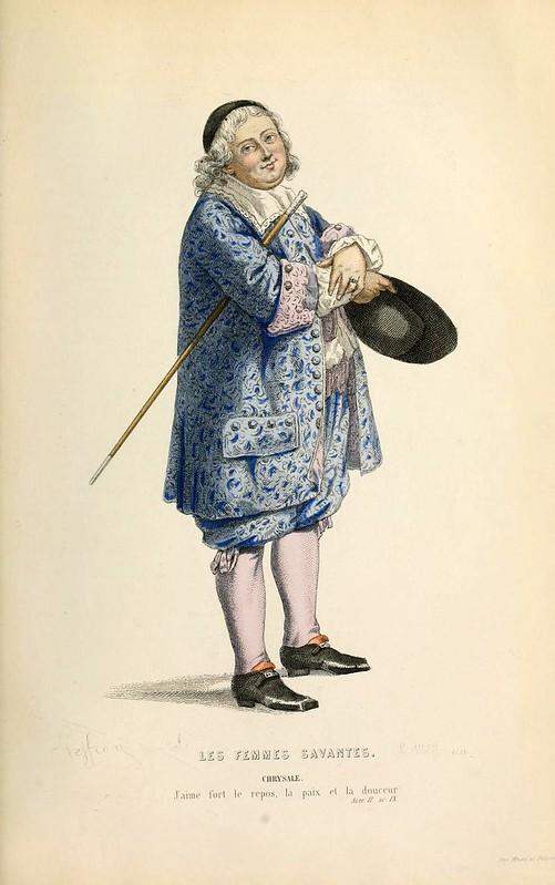 018- Las mujeres sabias -Oeuvres completes ornee de portraits en pied colories…1871- Moliere