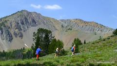 Hiking at around 9000 feet