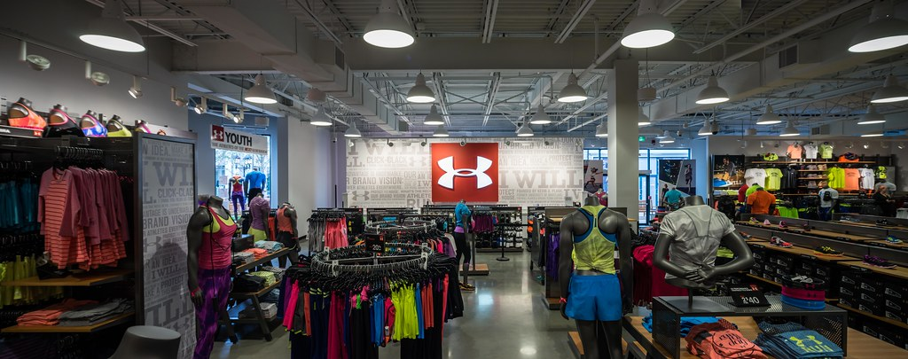 New Under Armour Outlet/Factory Store, Vancouver BC | By TrainerKEN.