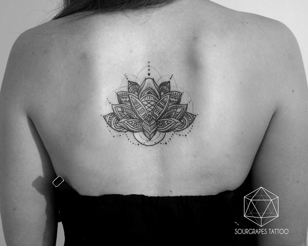 Mehndi style lotus flower tattoo a collection of some of m flickr mehndi style lotus flower tattoo by 1322 tattoo studio izmirmasajfo Choice Image