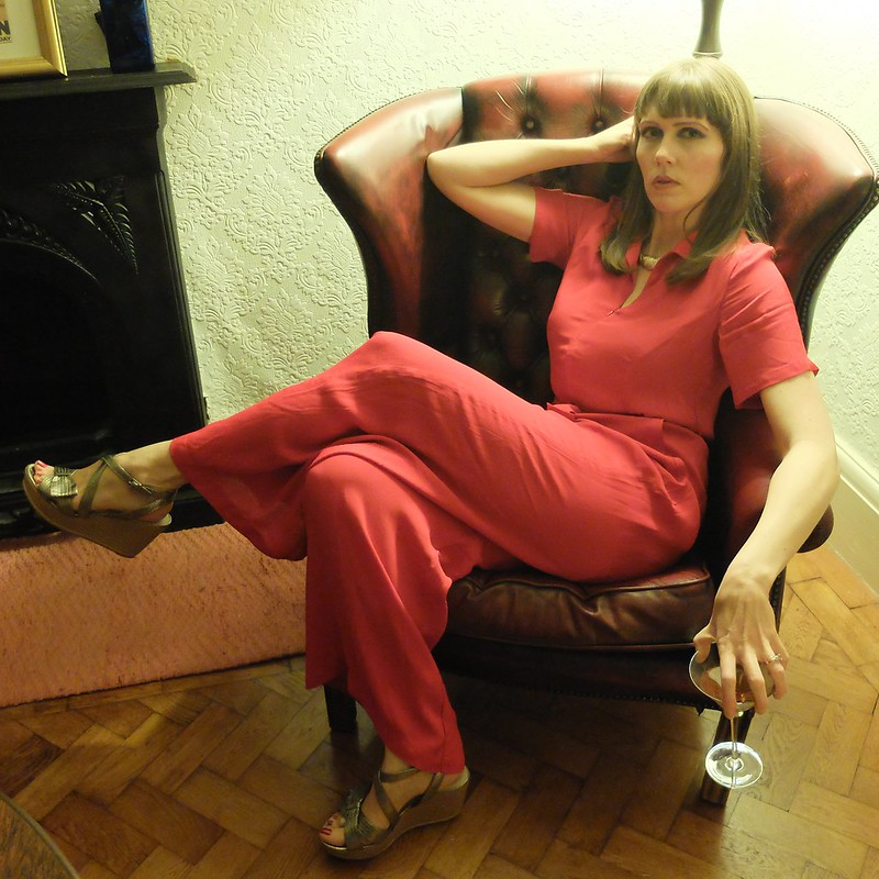 Seamstress of bloomsbury lauren siren suit