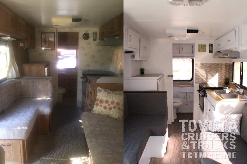 Toyota Mini Motorhome project