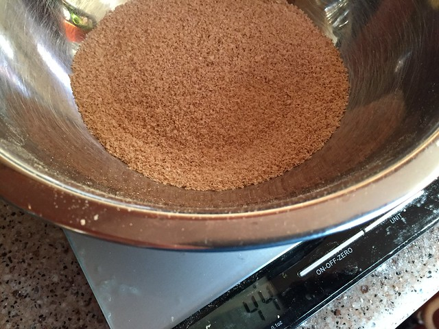 #40 sifted out bran (44g = 10%)