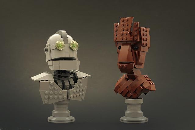 LEGO Iron Giant I am (not) Groot