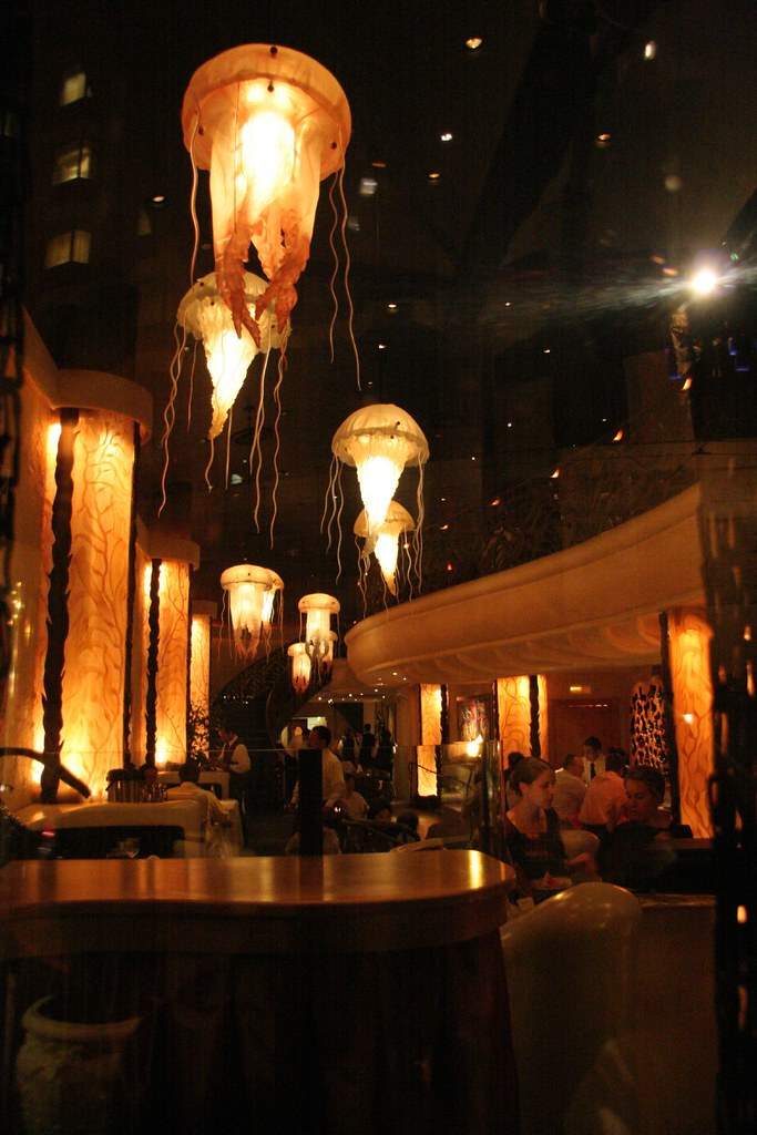 Jellyfish farallon restaurant san francisco decor of