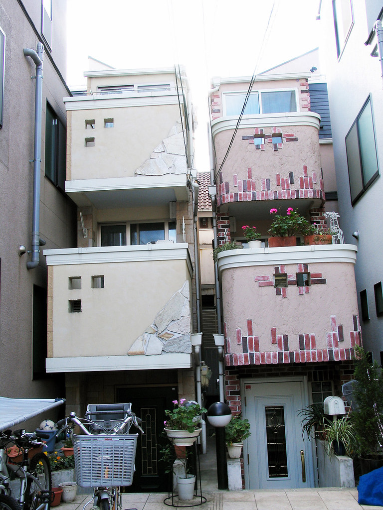 Modern Architecture Vs Traditional Architecture tokyo: modern architecture and traditional housing | flickr