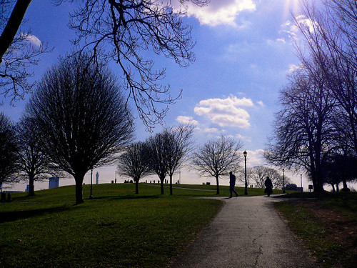 winter sun on primrose hill | by io2