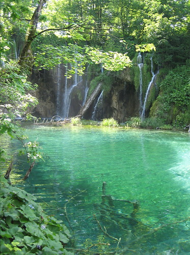 Plitvice waterfalls and pool | by kimbar/Thanks for 3 million views!