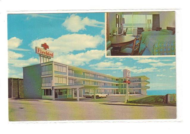 Firebird Motor Inn Myrtle Beach Sc 1960s Published By