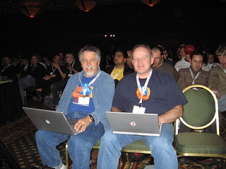 Doc Searls and Phil Windley | by Geodog