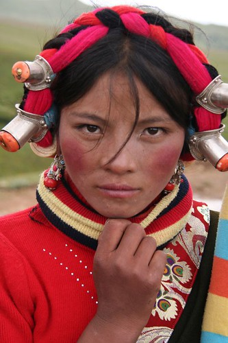 Tibetan woman. | Josh Maxwell | Flickr