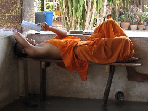 Novice Studying, Luang Prabang | by Hanoi Mark