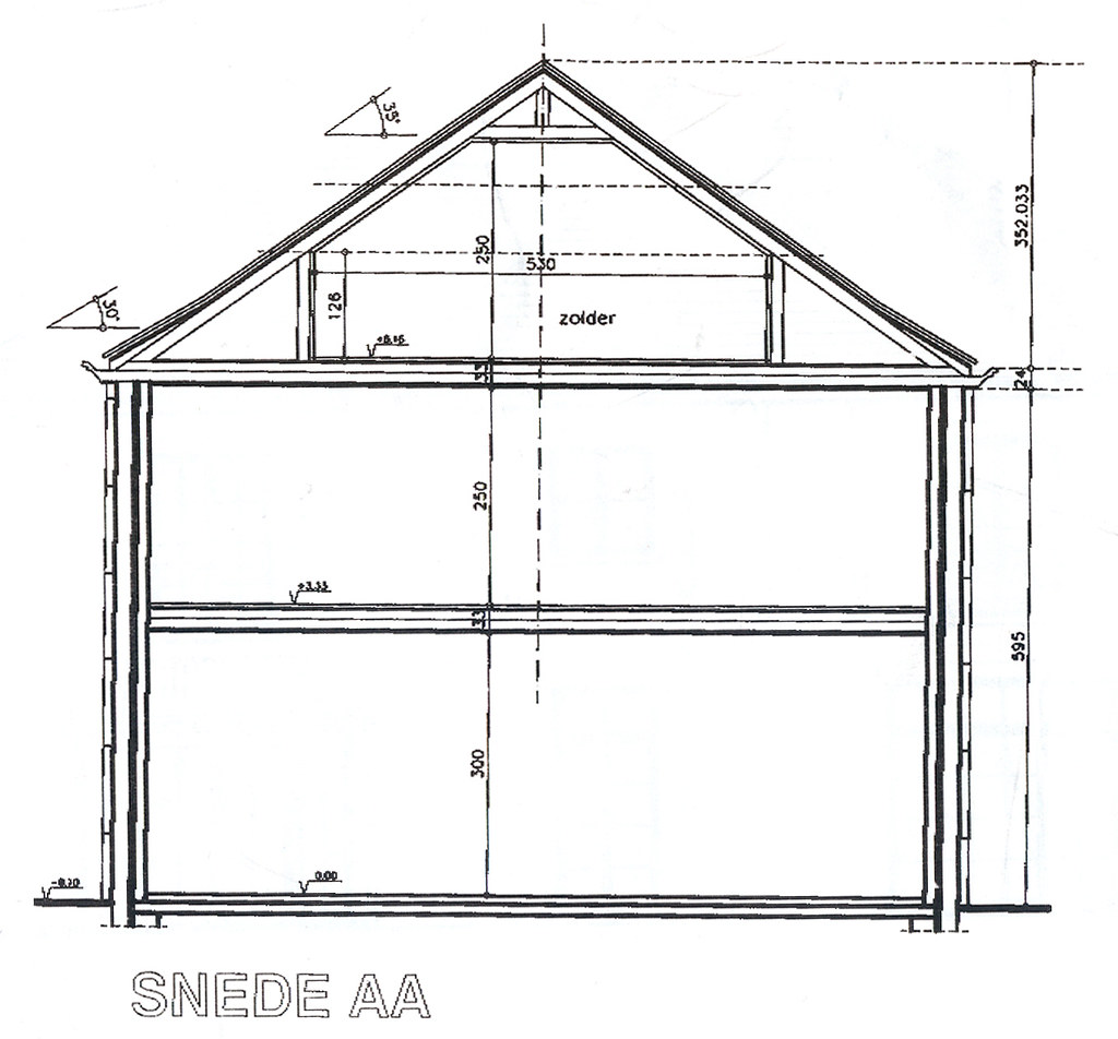House Plans: Cut-through | The attic area will become a ...