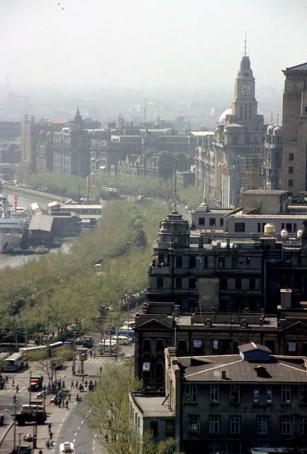 The Bund Shanghai China 1984 The Bund Shanghai 1984