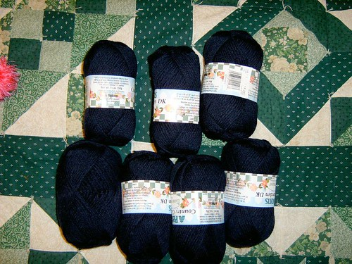 Navy DK wool | by Magnificent Wilf