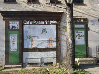 Cafe Putain -- 1500 block of 9th Street NW | by rllayman
