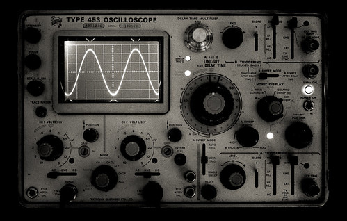 Tektronix Type 453 Oscilloscope | by stanhua