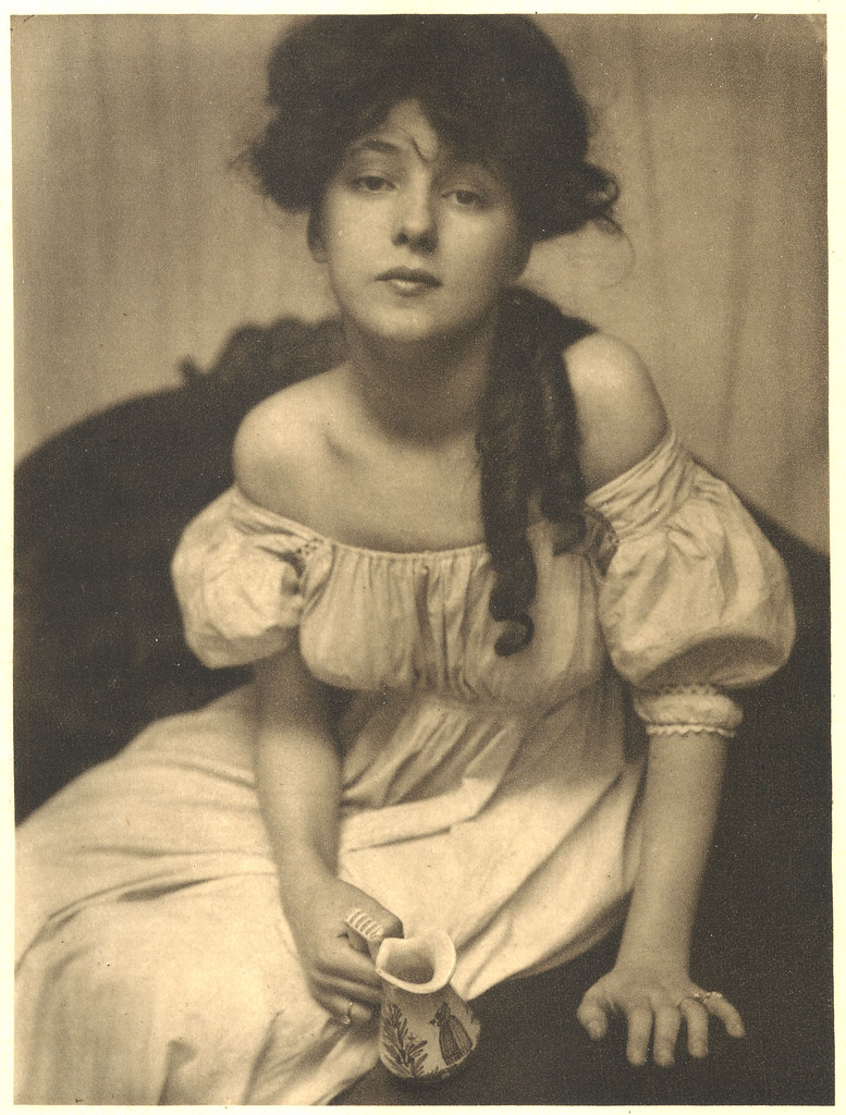 Gertrude Kasebier Portrait Miss N Kelly G Flickr