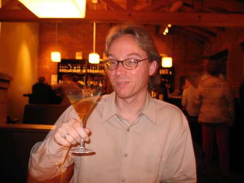 Wes, at Lucques, with a Harold Lloyd Cocktail | by SazeracLA