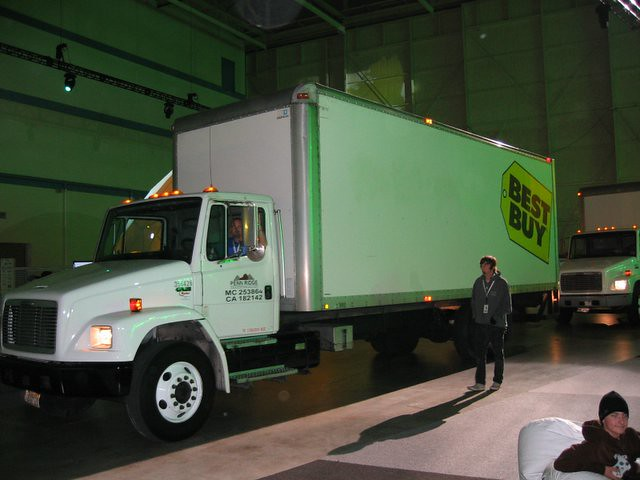 best buy trucks grand entrance truck 1 bassam islam flickr. Black Bedroom Furniture Sets. Home Design Ideas
