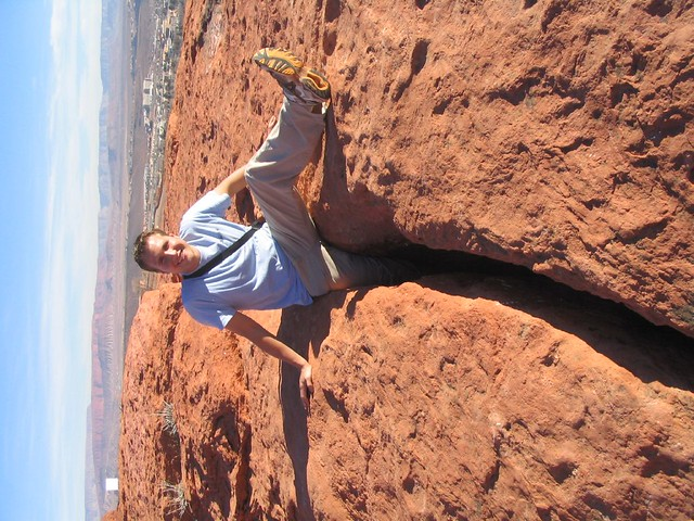 ken  dixie rock area  red cliffs national conservation are