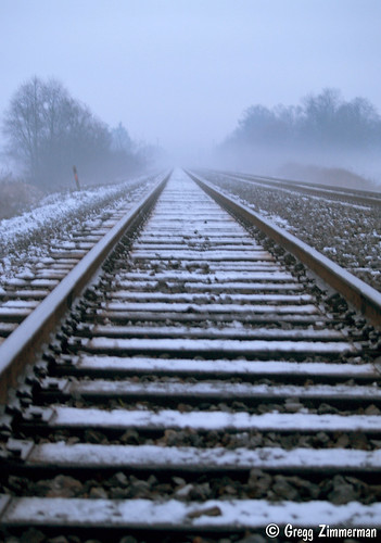 Disappearing tracks | by Gregg Zimmerman