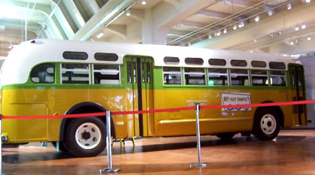 The Rosa Parks Bus This Is The Bus Rosa Parks Was